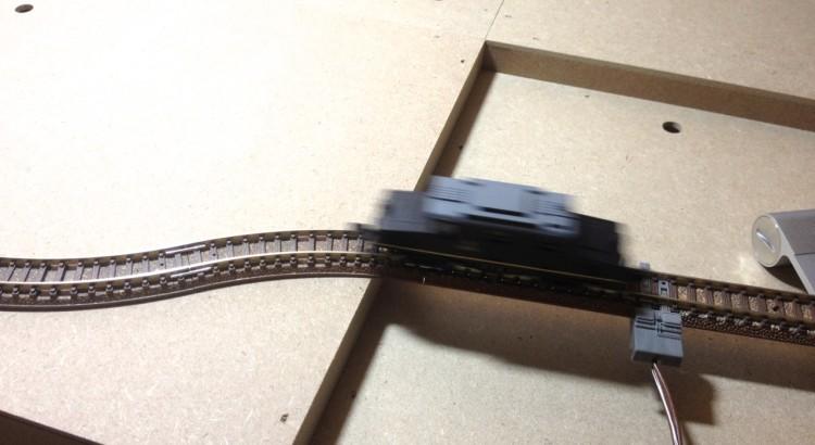 週刊 鉄道模型 少年時代 レール試運転