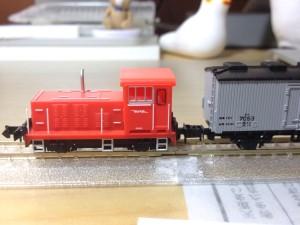 日本の貨物列車 貨車移動機 (国鉄色)4