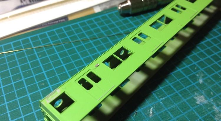 Greenmax JR103系 関西形高運転台車 加工5