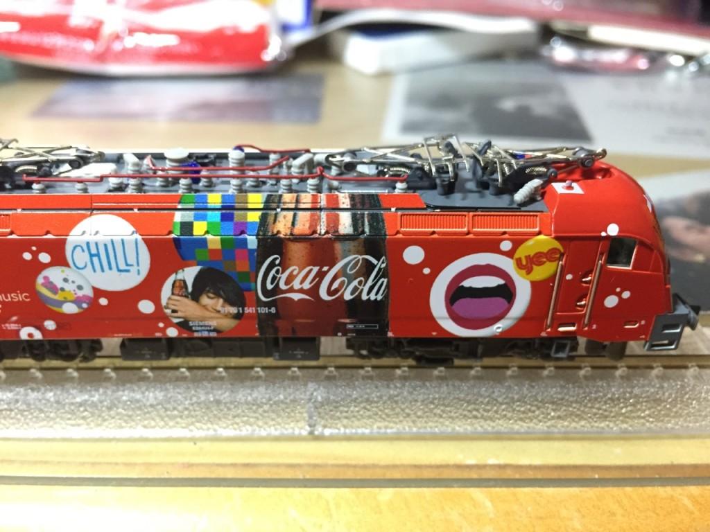 "Hobby train SZ BR 541 ""Coca-Cola"" 2"