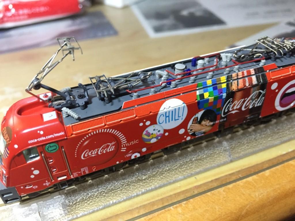 "Hobby train SZ BR 541 ""Coca-Cola"" 3"