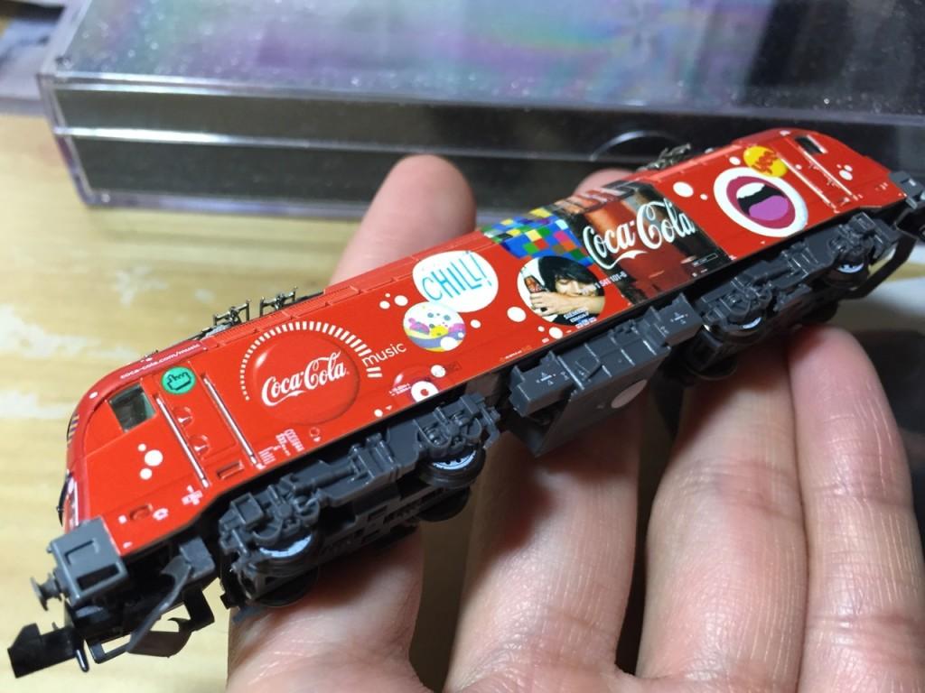 "Hobby train SZ BR 541 ""Coca-Cola"" 7"