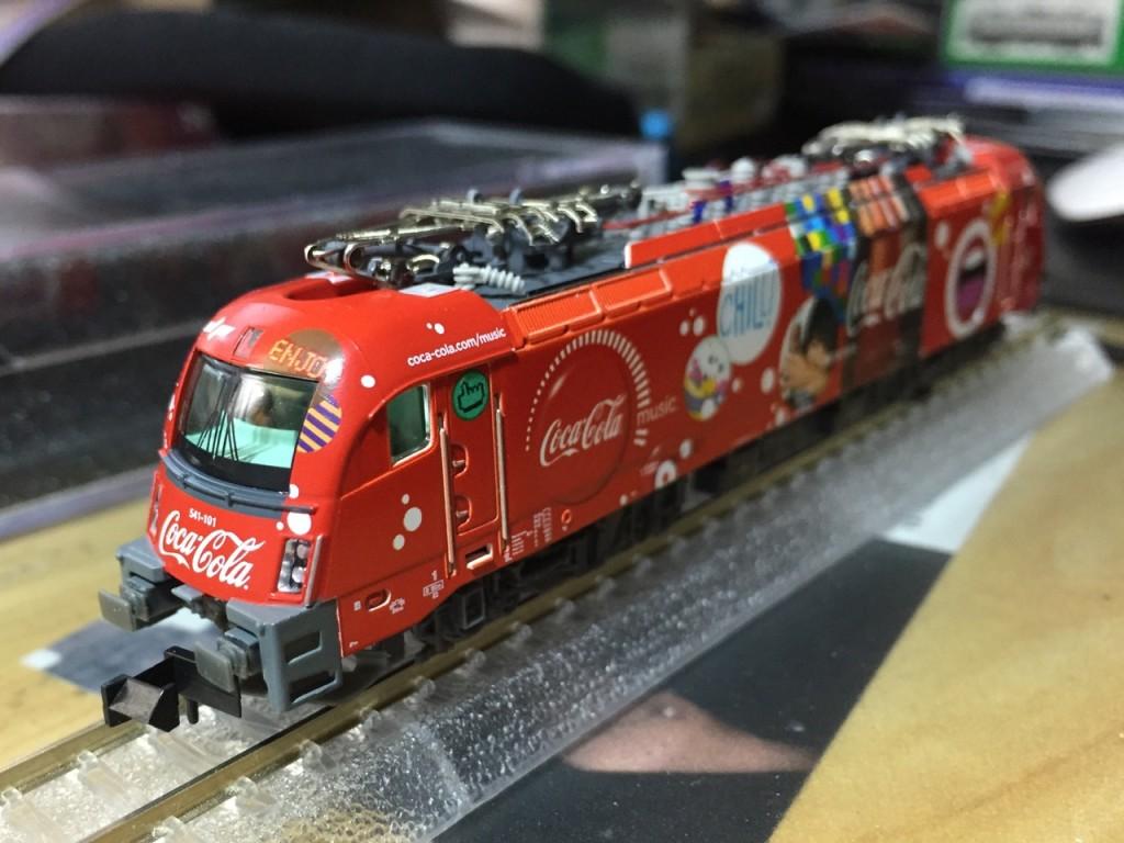 "Hobby train SZ BR 541 ""Coca-Cola"" 6"