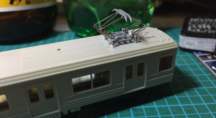 Greenmax JR205系 後期形 加工 3-3